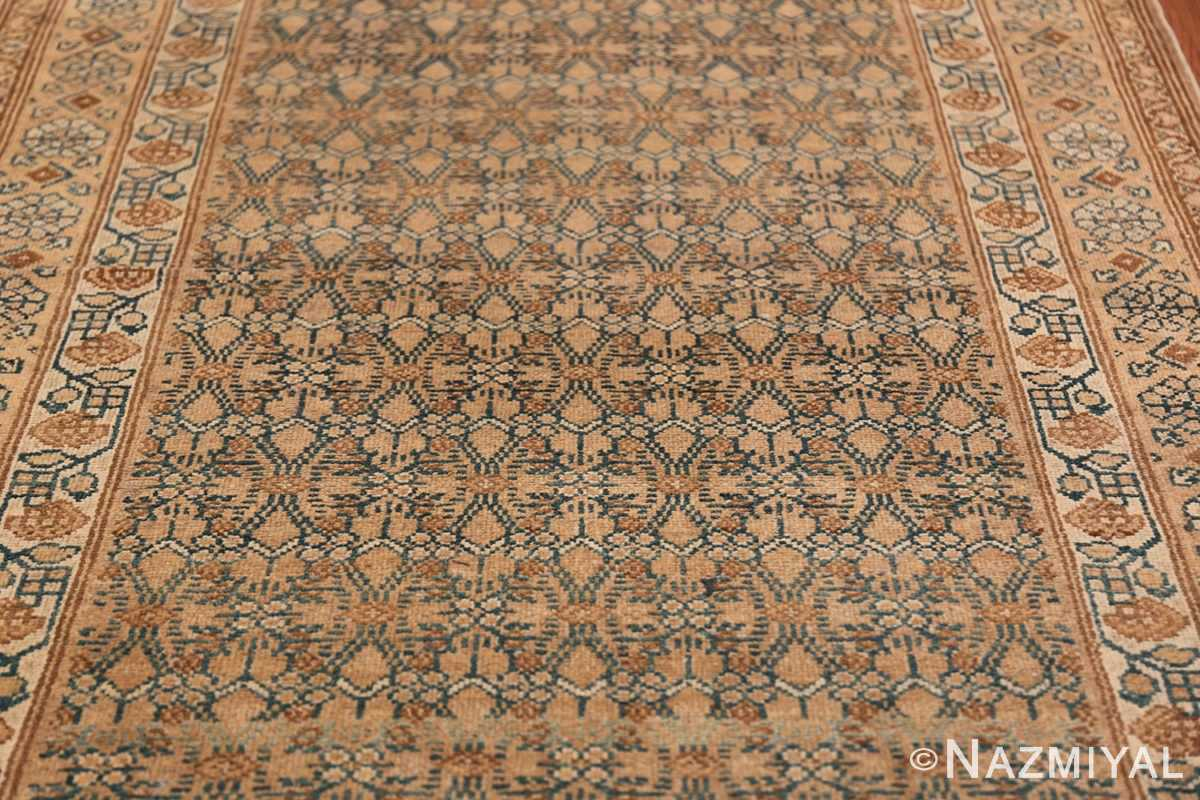Detailed Alabaster Antique Persian Malayer Runner Rug 50427 Middle Part Nazmiyal