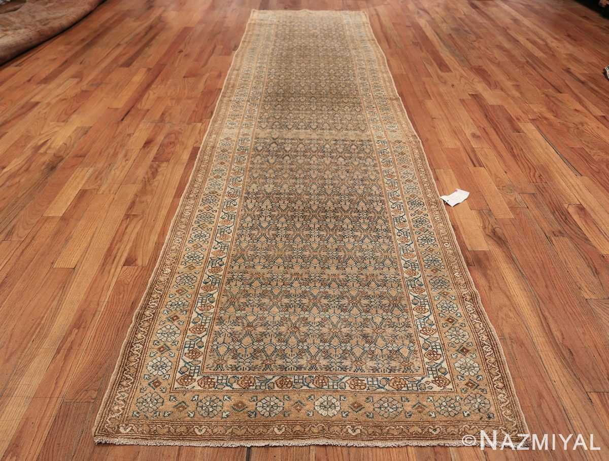 Detailed Alabaster Antique Persian Malayer Runner Rug 50427 Whole Design Nazmiyal