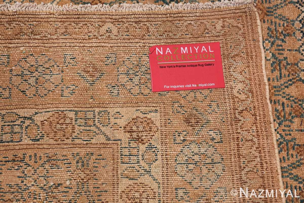 Detailed Alabaster Antique Persian Malayer Runner Rug 50427 Woven Pile Nazmiyal