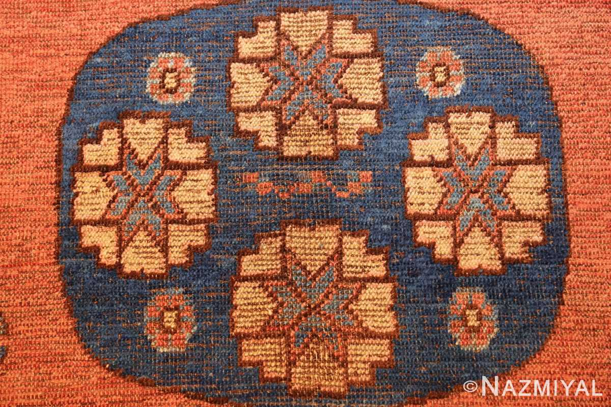 early 18th century antique east turkestan khotan rug 50486 blue Nazmiyal