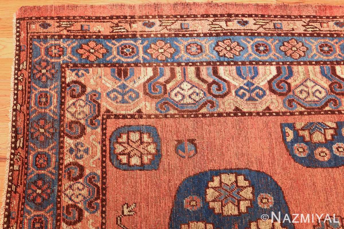 early 18th century antique east turkestan khotan rug 50486 corner Nazmiyal