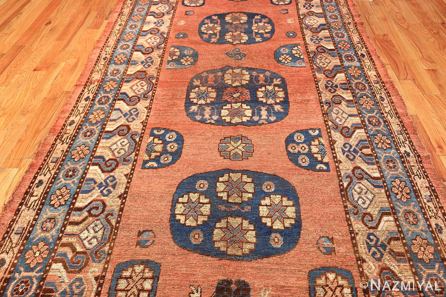 early 18th century antique east turkestan khotan rug 50486 field Nazmiyal