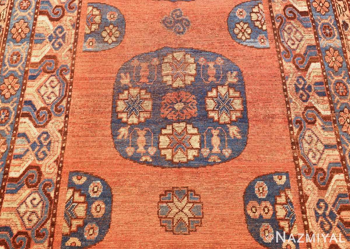 early 18th century antique east turkestan khotan rug 50486 medallion Nazmiyal