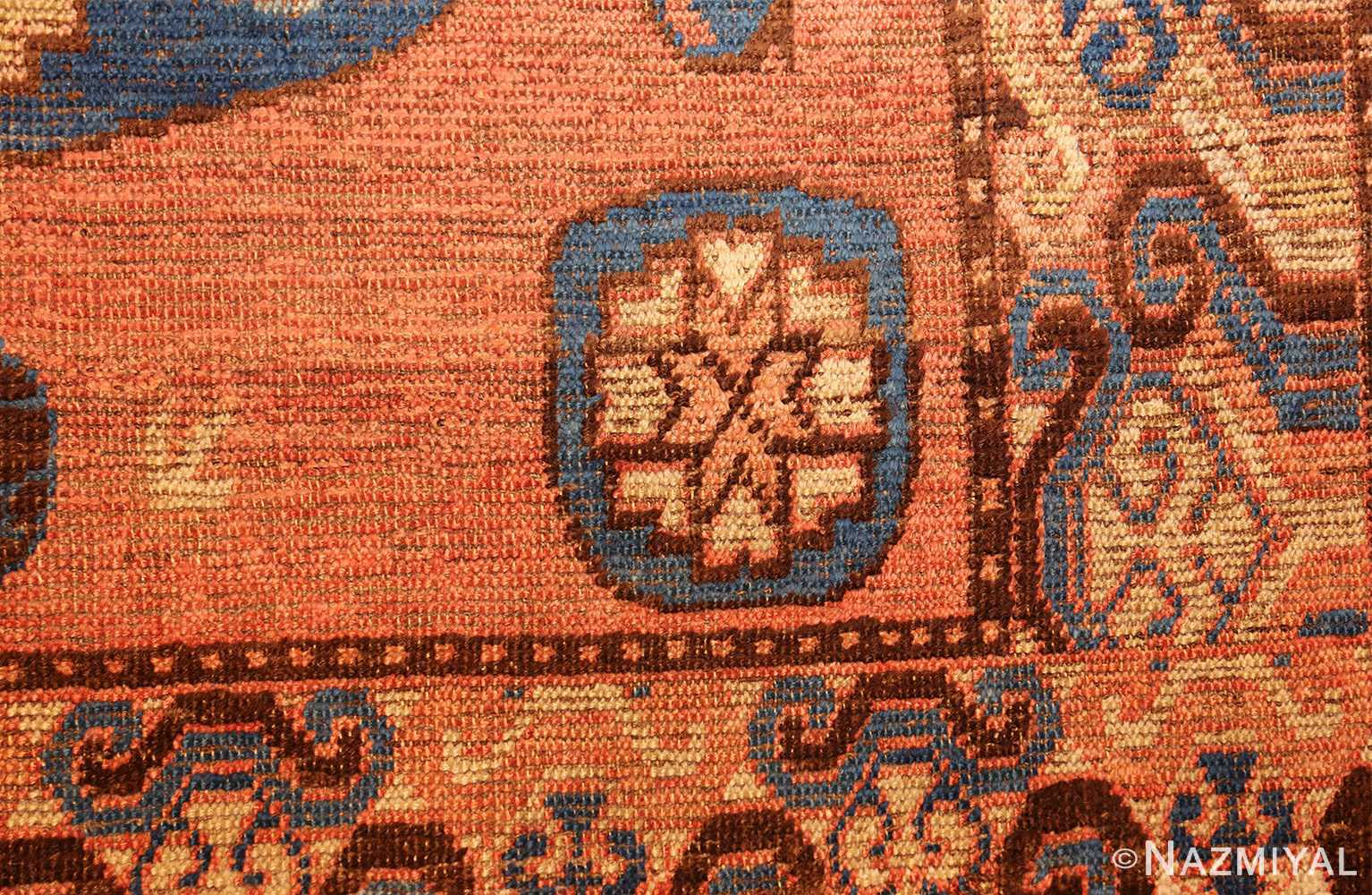 early 18th century antique east turkestan khotan rug 50486 side Nazmiyal