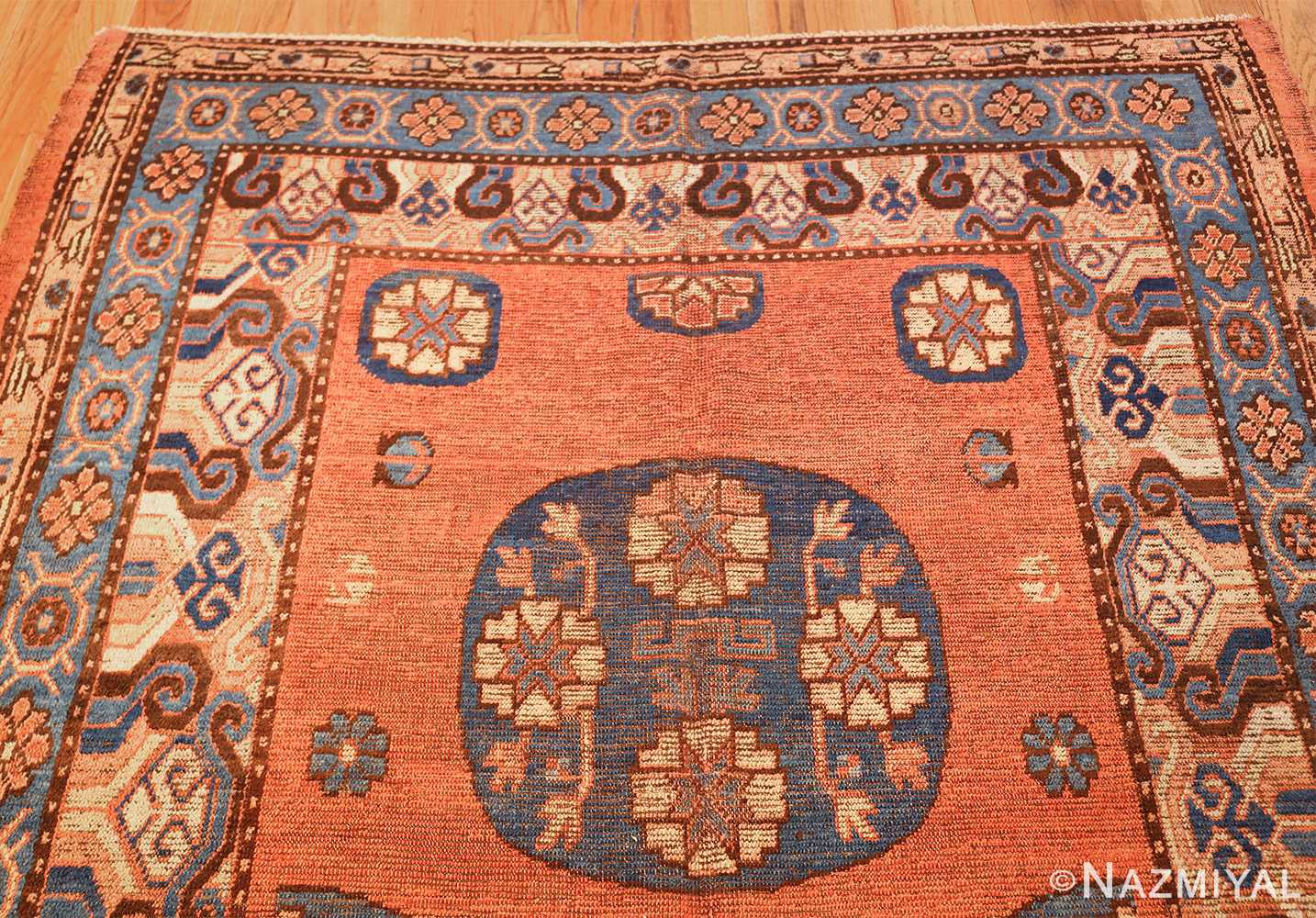 early 18th century antique east turkestan khotan rug 50486 top Nazmiyal