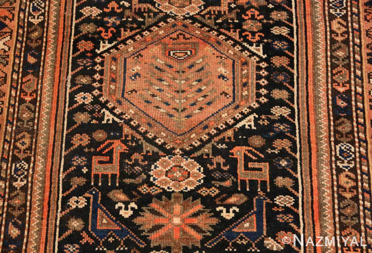 Field Vintage Persian qashqai rug 50466 by Nazmiyal