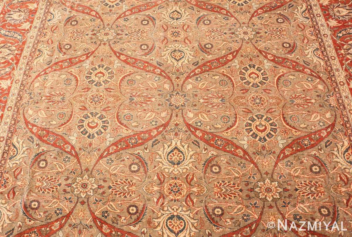 Field Antique Persian Tabriz rug 50253 by Nazmiyal