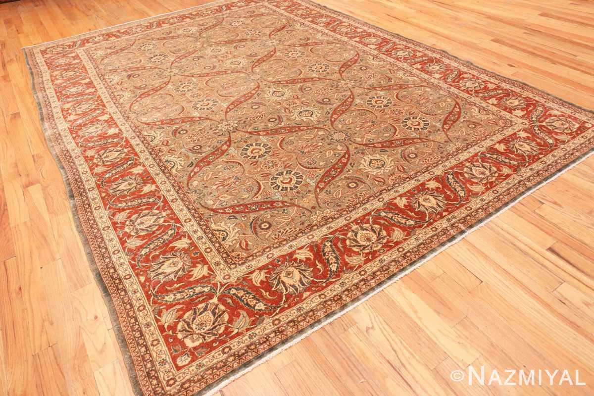Full Antique Persian Tabriz rug 50253 by Nazmiyal
