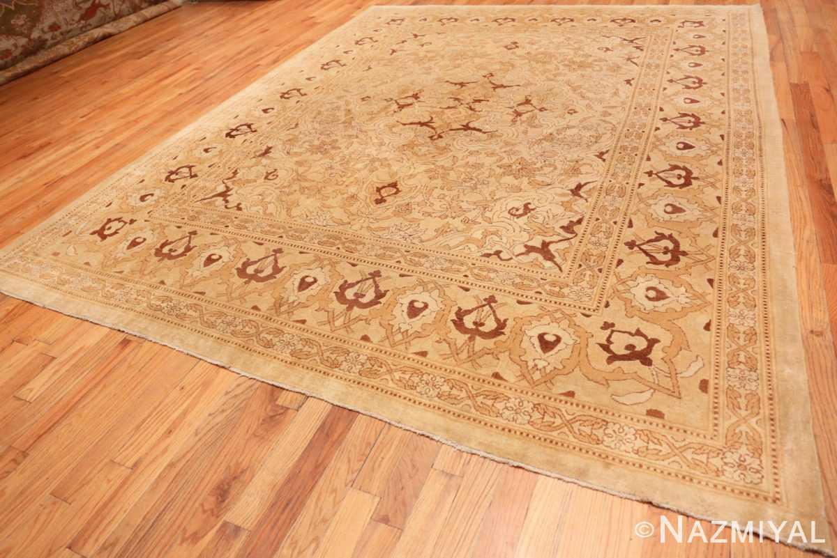 Full Intricate Antique Indian Amritsar rug 50507 by Nazmiyal
