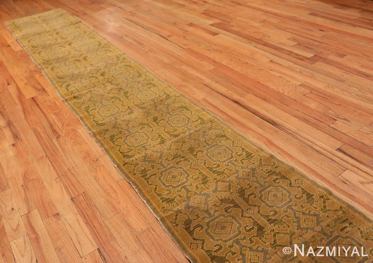 Full Antique Spanish hallway runner rug 50472 by Nazmiyal