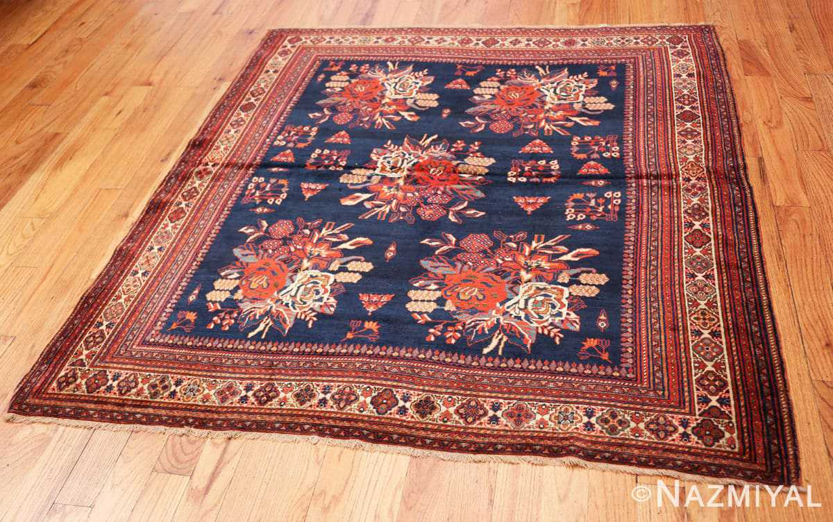 Full Square Antique Persian Afshar rug 50397 by Nazmiyal