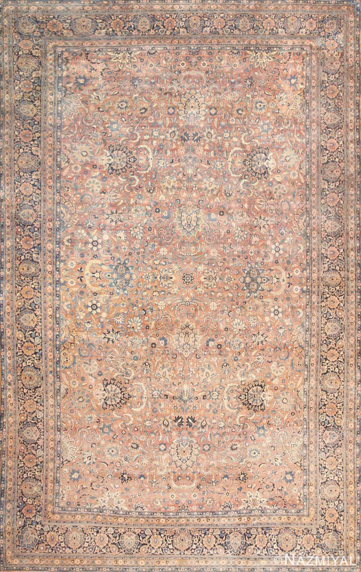 Large Antique Persian Kerman Rug 50462 Nazmiyal