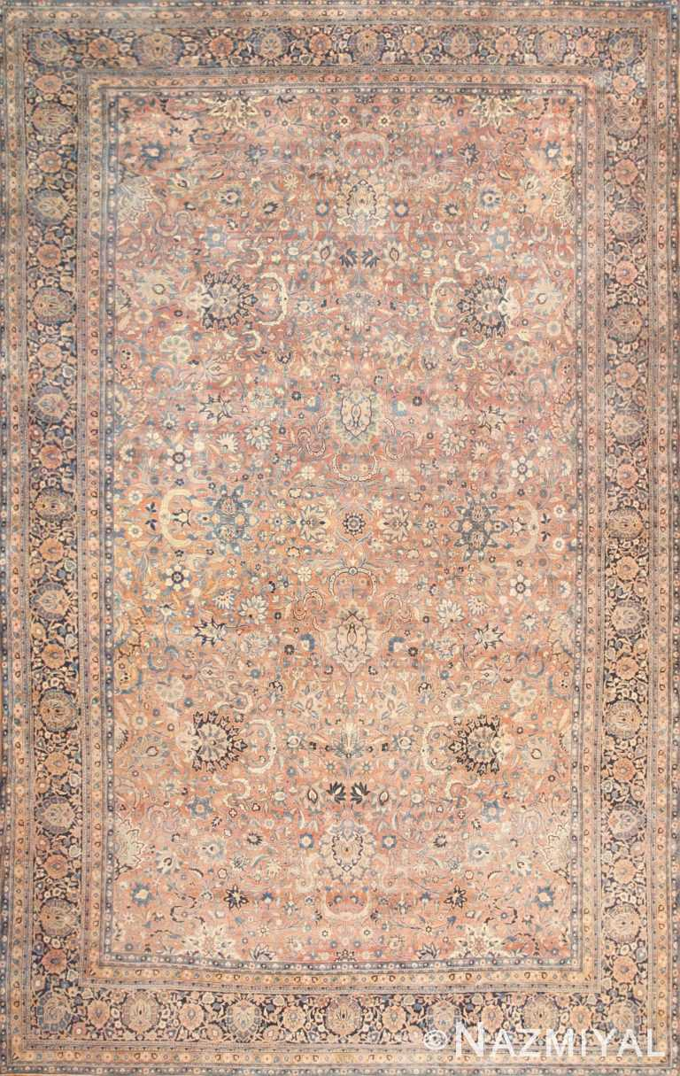 Large Antique Persian Kerman Rug 50462 Nazmiyal