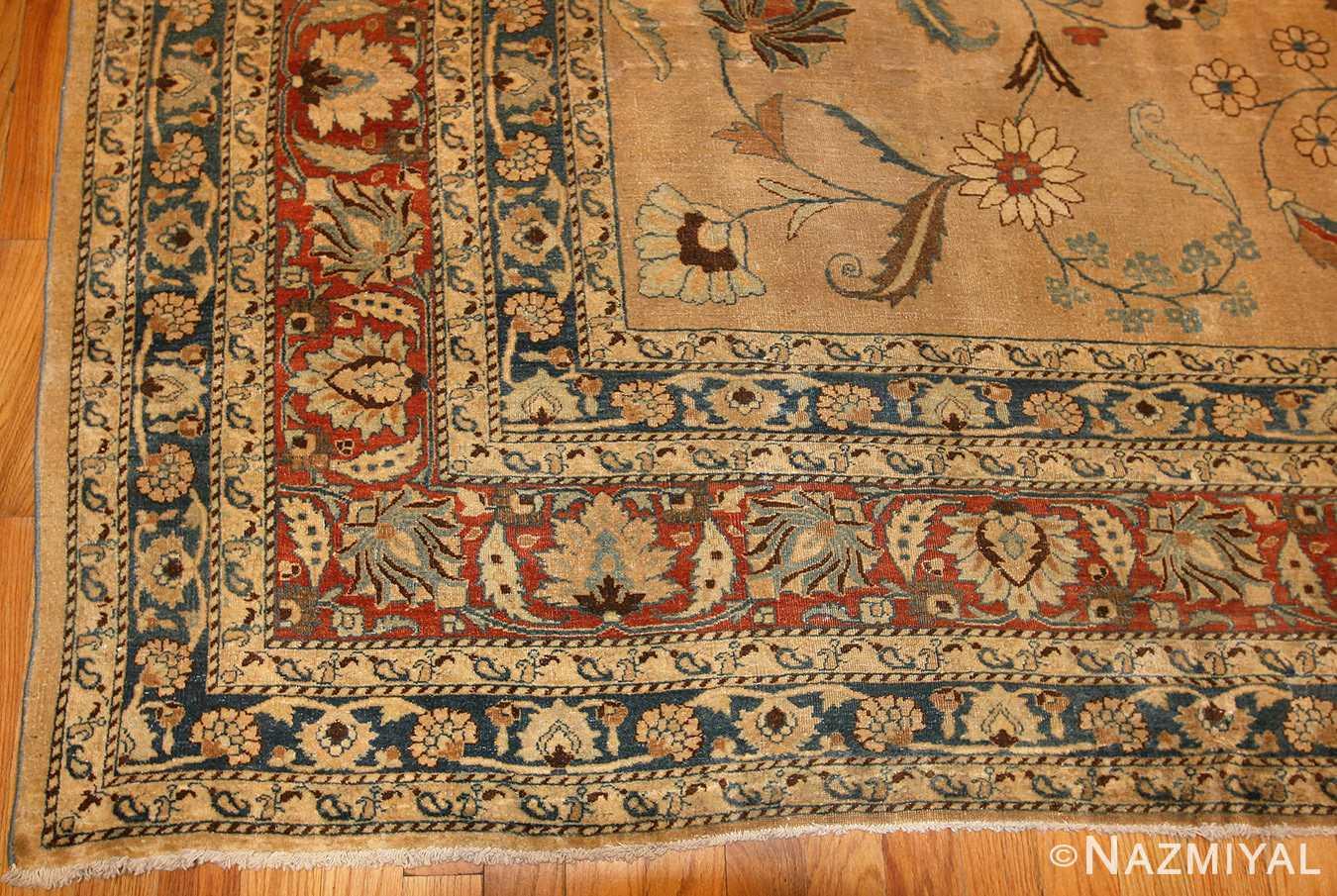 large antique persian khorassan carpet 48386 corner Nazmiyal