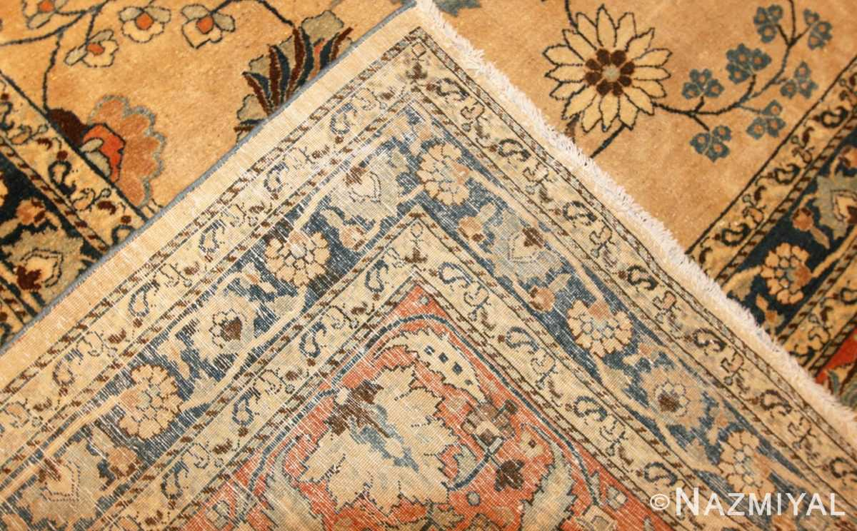 large antique persian khorassan carpet 48386 weave Nazmiyal