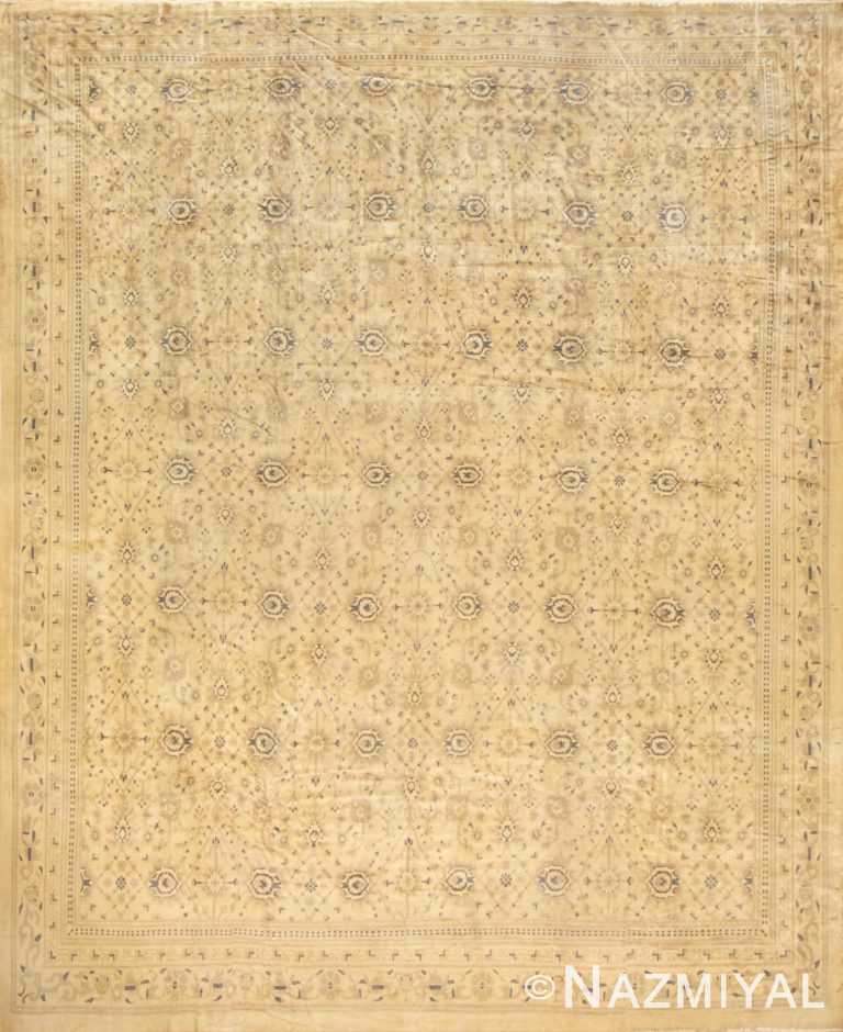 Large Elaborate Antique Indian Rug 50451 Nazmiyal