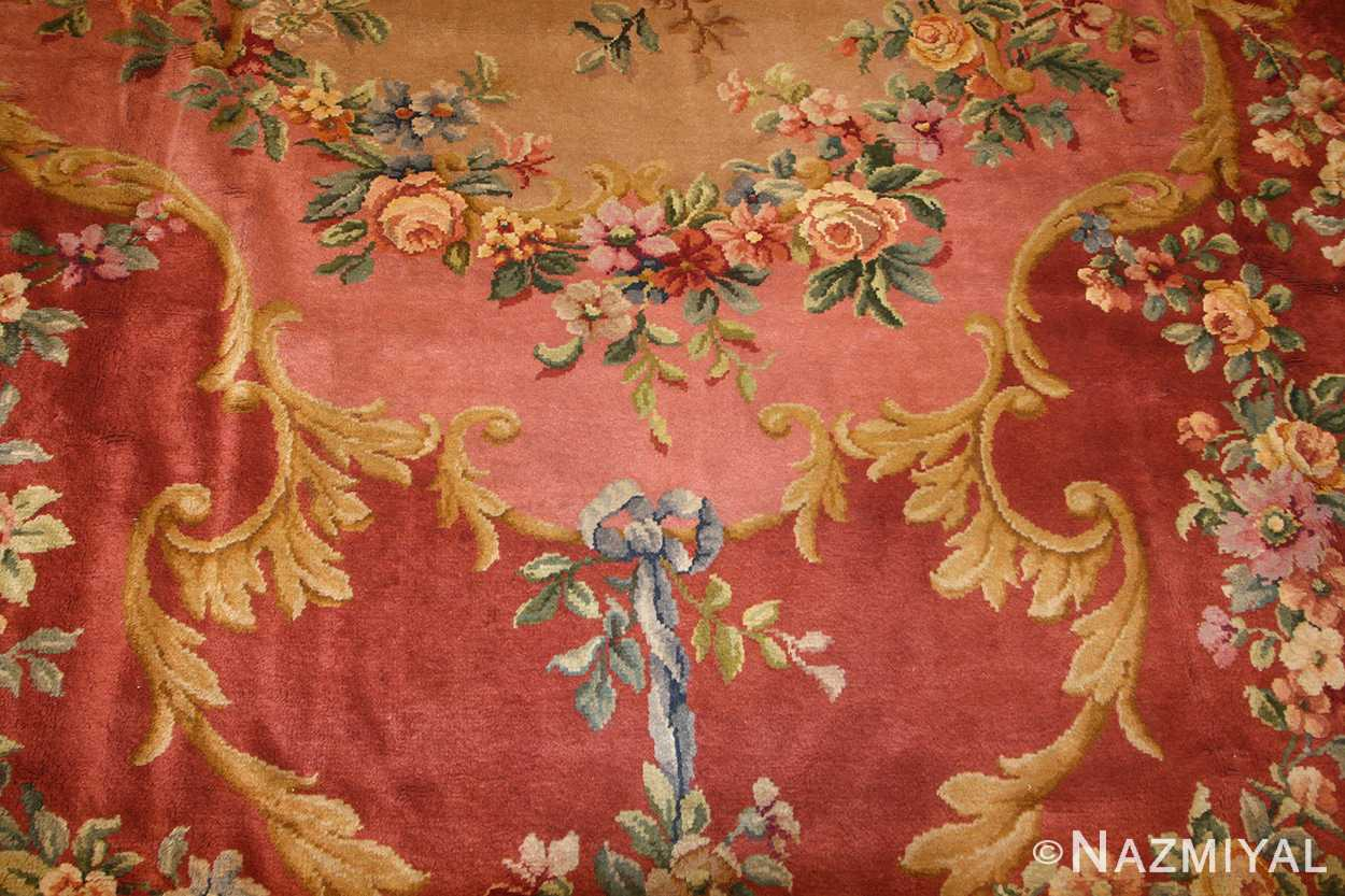 oversized antique french savonnerie rug 50561 field Nazmiyal