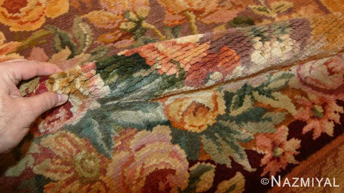 oversized antique french savonnerie rug 50561 pile Nazmiyal