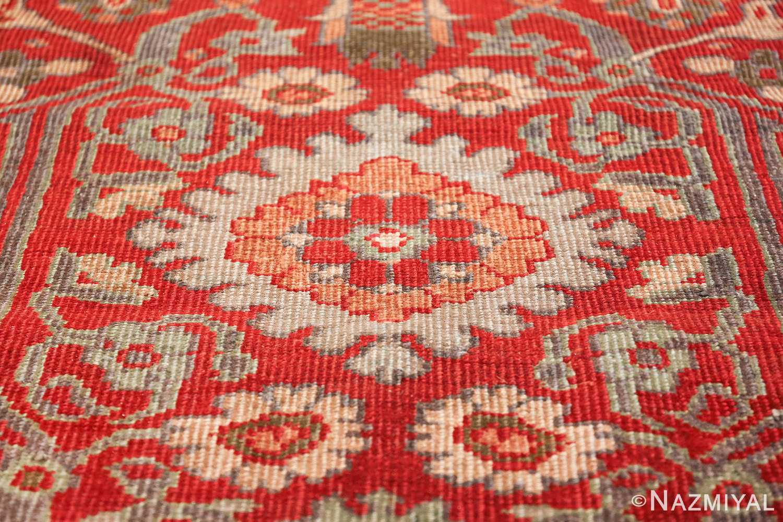 oversized antique persian sultanabad rug 48730 blue Nazmiyal