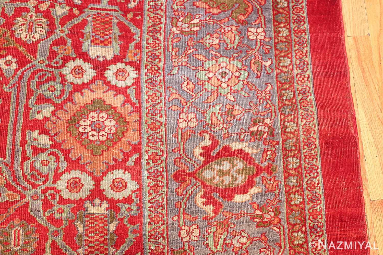 oversized antique persian sultanabad rug 48730 border Nazmiyal