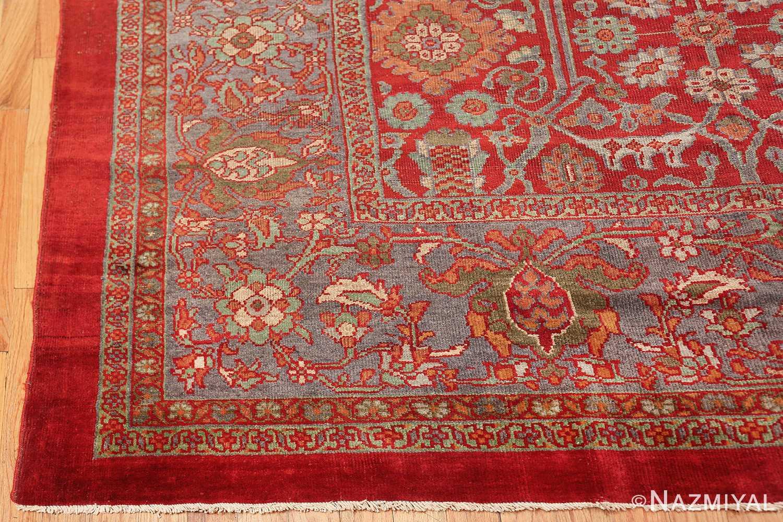 oversized antique persian sultanabad rug 48730 corner Nazmiyal