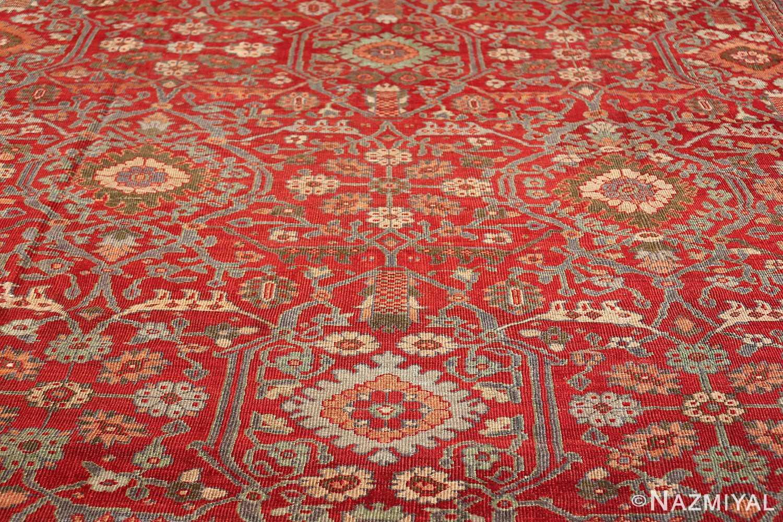 oversized antique persian sultanabad rug 48730 medallion Nazmiyal