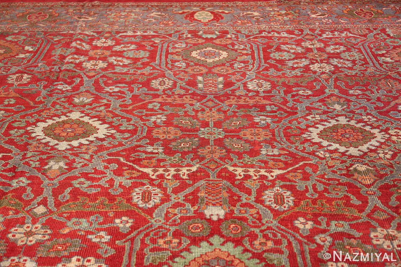 oversized antique persian sultanabad rug 48730 shape Nazmiyal