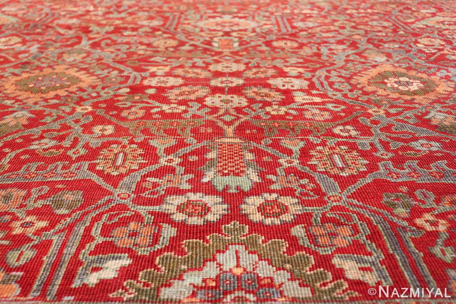 oversized antique persian sultanabad rug 48730 top Nazmiyal