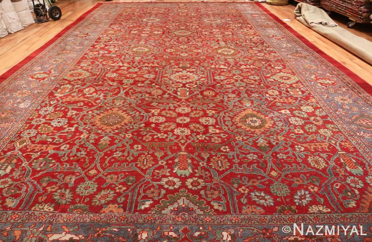 oversized antique persian sultanabad rug 48730 whole Nazmiyal