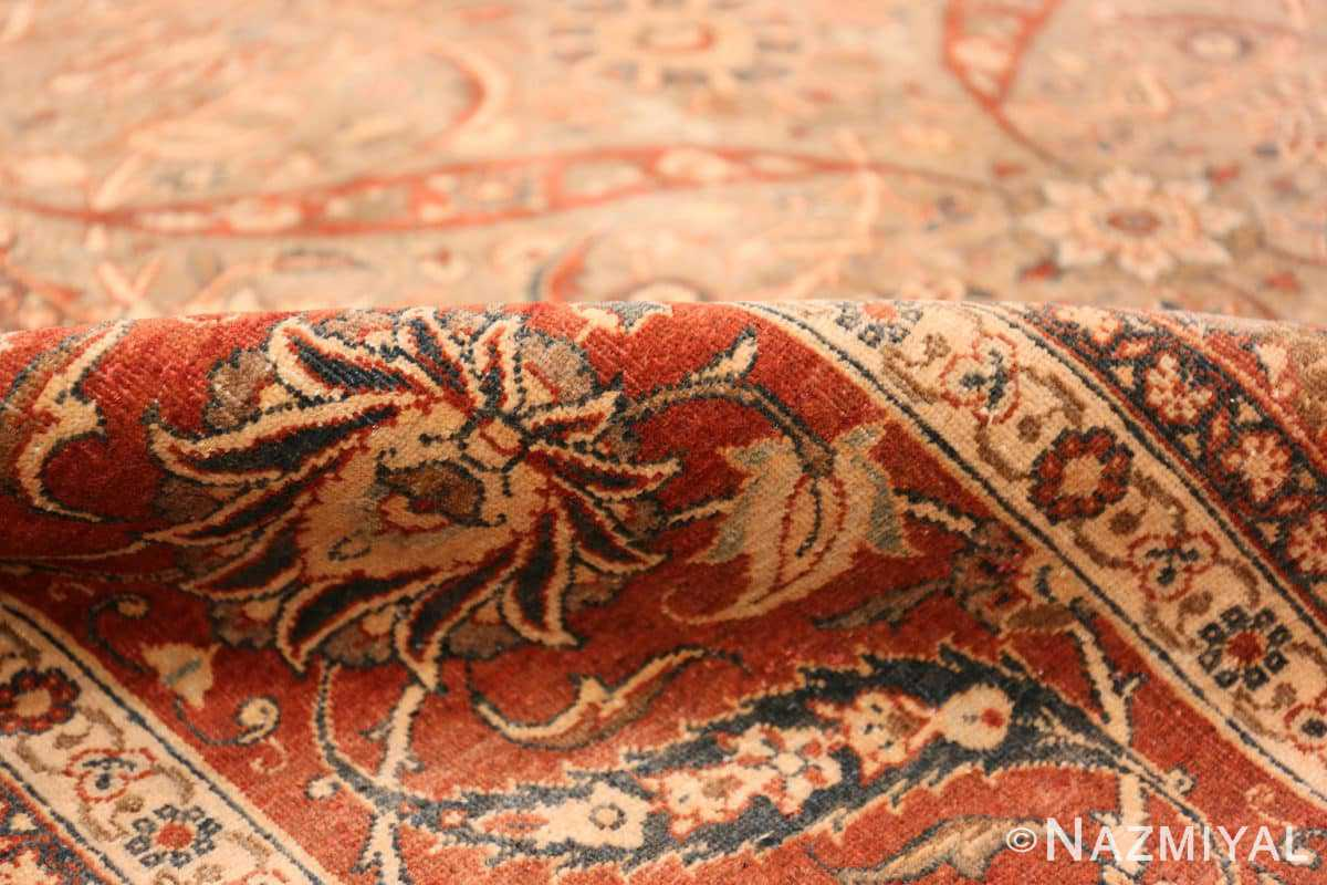 Pile Antique Persian Tabriz rug 50253 by Nazmiyal