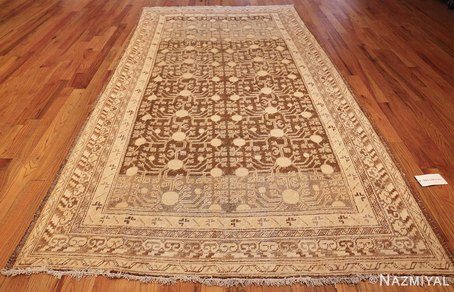 shabby chic antique east turkestan khotan rug 50485 whole Nazmiyal