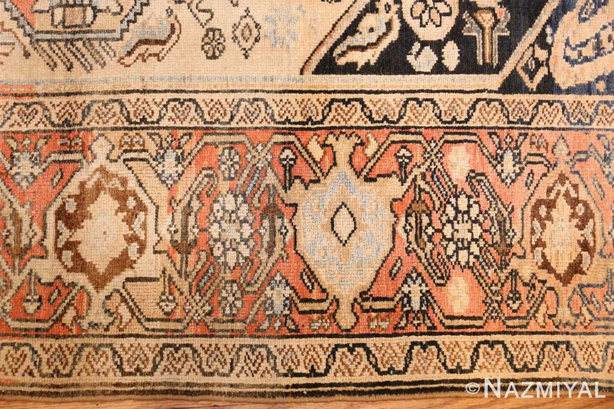 small antique persian malayer rug 50403 border Nazmiyal