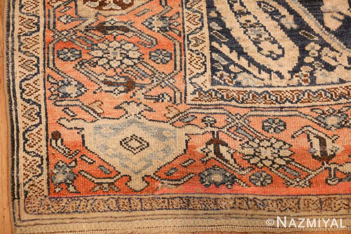 smal antique persian malayer rug 50403 corner Nazmiyal