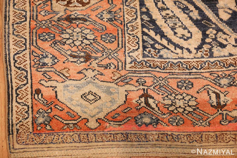 smal antique persian malayer rug 50403 corner Nazmiyal