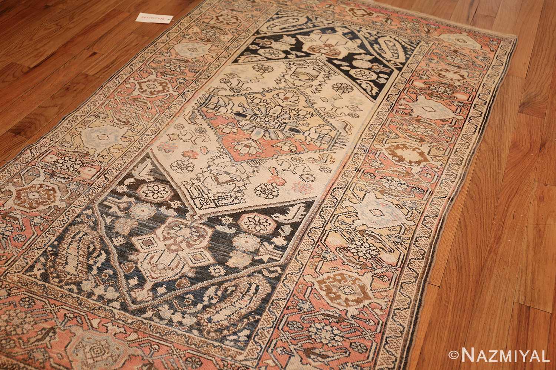 small antique persian malayer rug 50403 side Nazmiyal