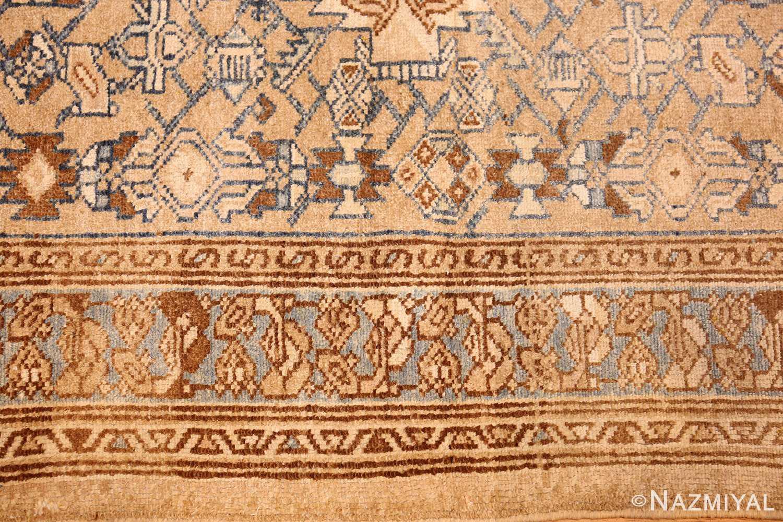 small tribal antique persian malayer rug 50417 border Nazmiyal