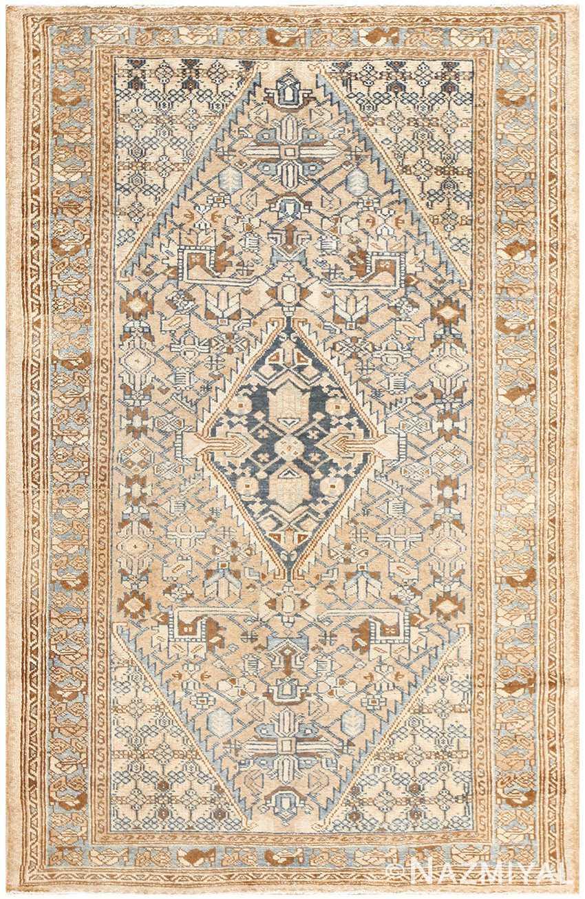 Small Tribal Antique Persian Malayer Rug 50417 Nazmiyal