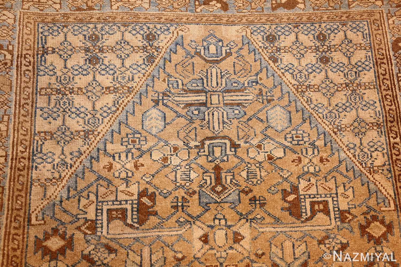 small tribal antique persian malayer rug 50417 top Nazmiyal