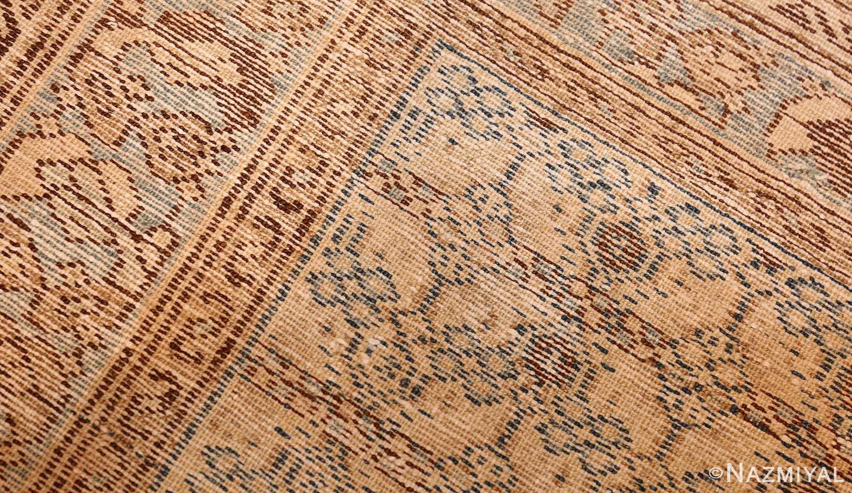 small tribal antique persian malayer rug 50417 weave Nazmiyal