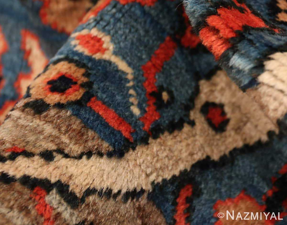 Texture Antique Persian Bakshash rug 48720 by Nazmiyal