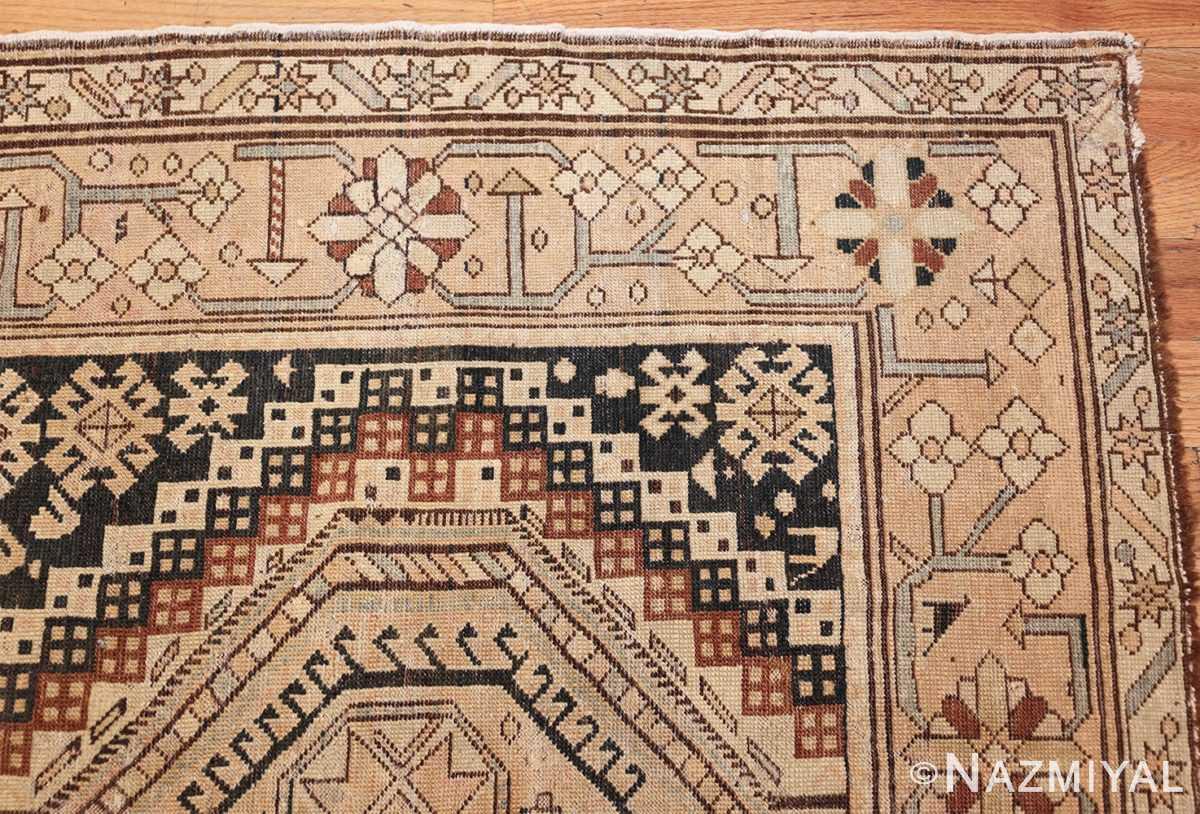 tribal antique caucasian shirvan rug 50473 corner Nazmiyal