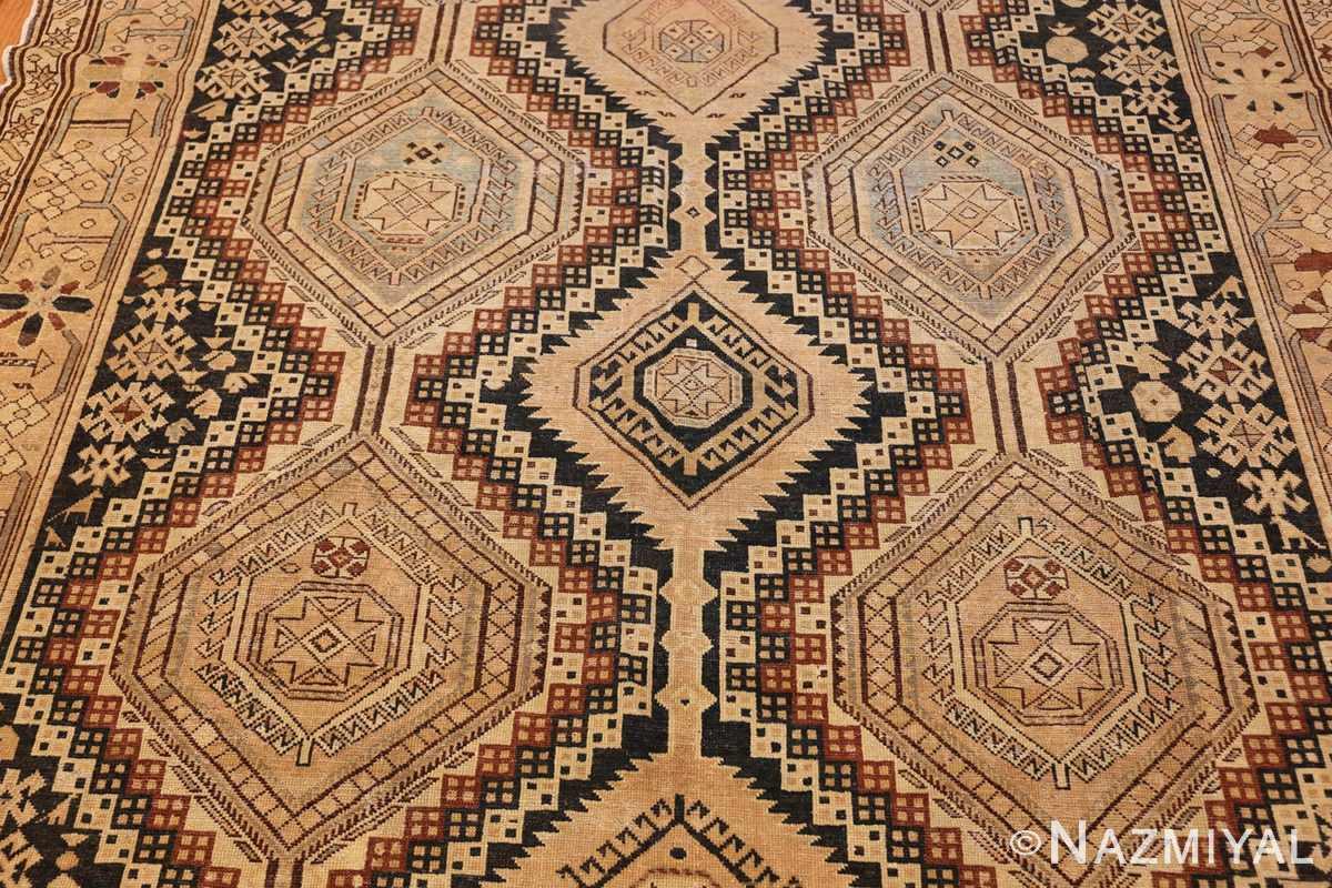 tribal antique caucasian shirvan rug 50473 field Nazmiyal
