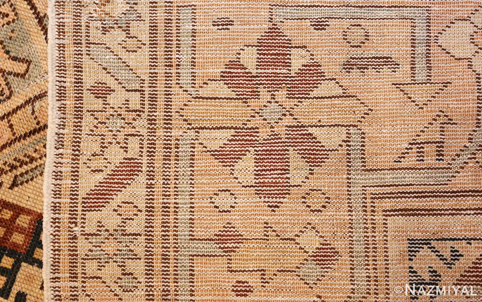 tribal antique caucasian shirvan rug 50473 weave Nazmiyal