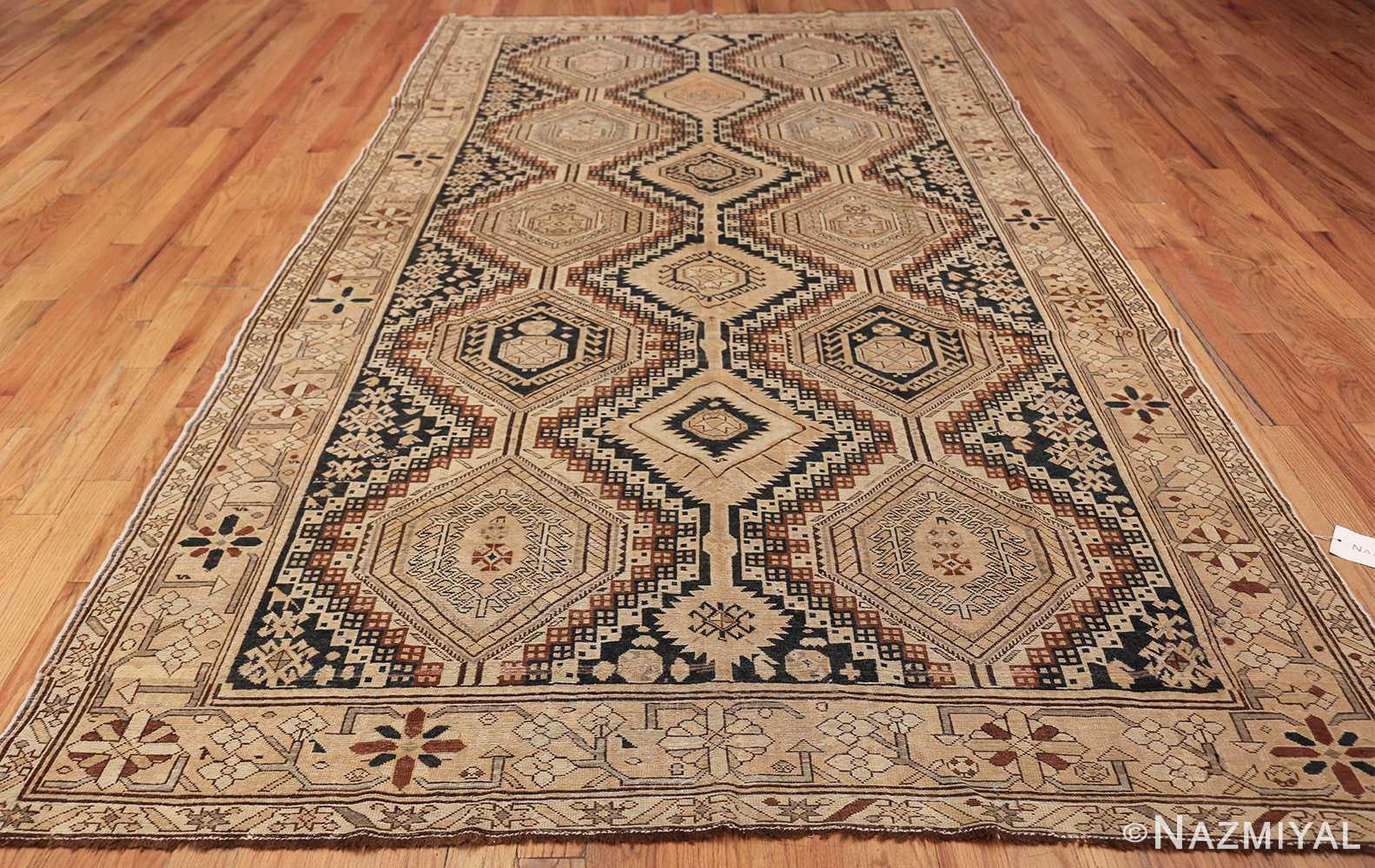 tribal antique caucasian shirvan rug 50473 whole Nazmiyal
