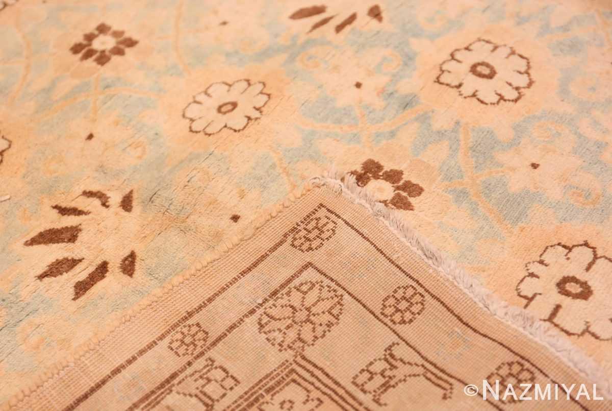Weave Light blue Antique Persian Tabriz rug 47779 by Nazmiyal