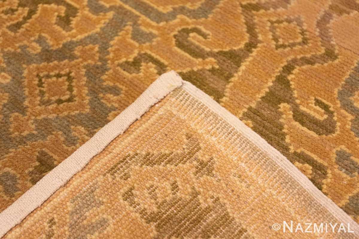 Weave Antique Spanish hallway runner rug 50472 by Nazmiyal