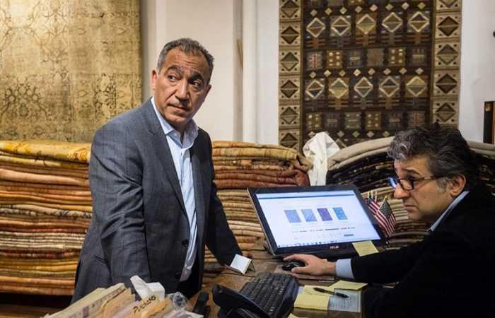 Picture of Jason Nazmiyal Courtesy of JEN TSE FOR NEWSWEEK Article about Iranian Rugs