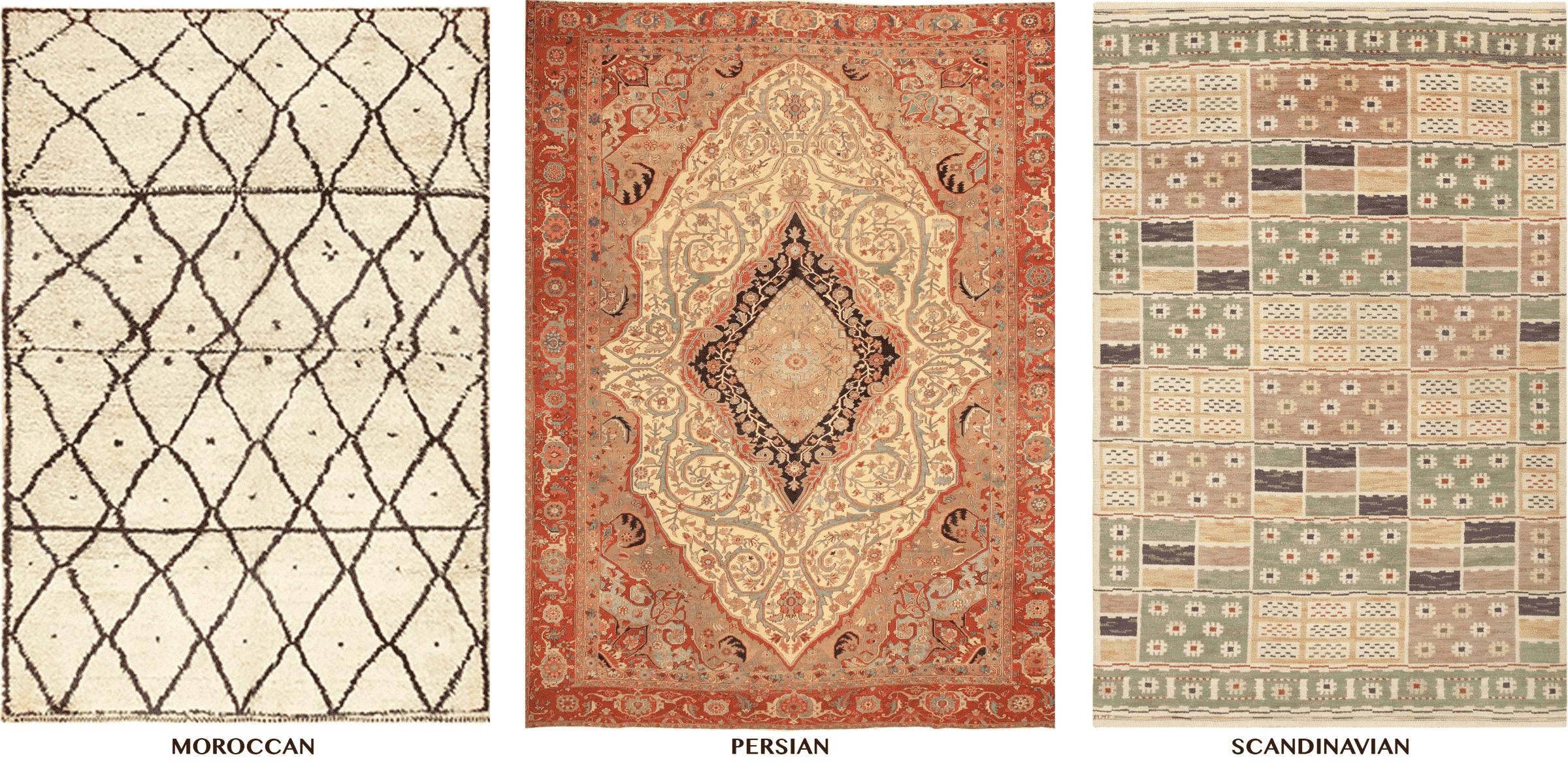 Moroccan, Persian, Scandinavian