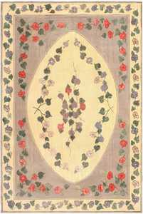 Antique American Hooked Rug 50557 by Nazmiyal