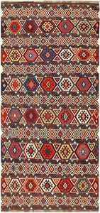 Antique Caucasian Kilim 48420 Detail/Large View